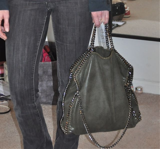 I chose the green shade with gunmetal hardware and I couldn t be happier  with this bag. My bag is the fold over style 4698d77f1b55b